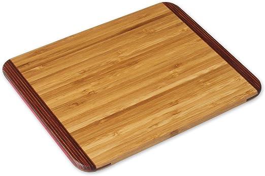 Amazon Com Island Bamboo Rainbow Bar Board Small 1 Ea Bar Cutting Boards Kitchen Dining