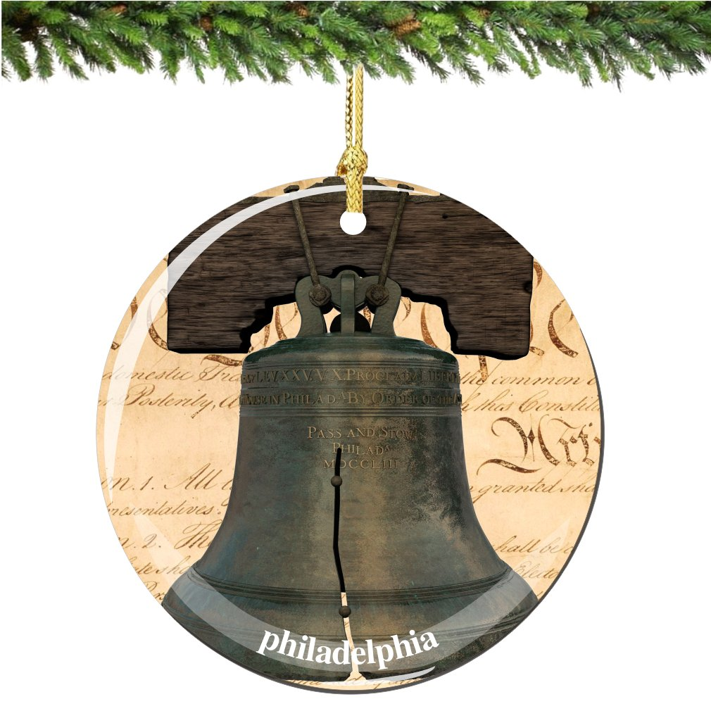 Amazon.de: City-Souvenirs Philadelphia Liberty Bell Weihnachten ...