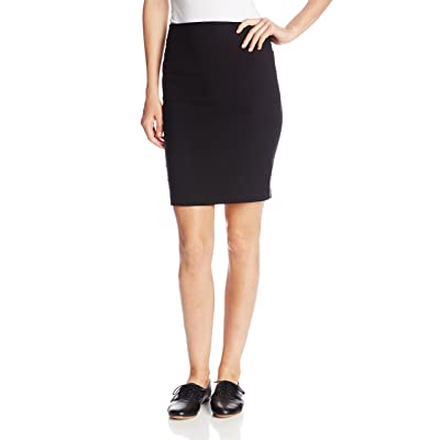 A. Byer Juniors Pull-On Slim Fitting Pencil Skirt: Clothing