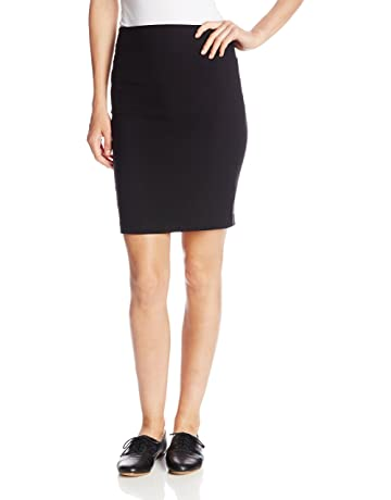 8a5e51dfc5ef A. Byer Juniors Pull-On Slim Fitting Pencil Skirt