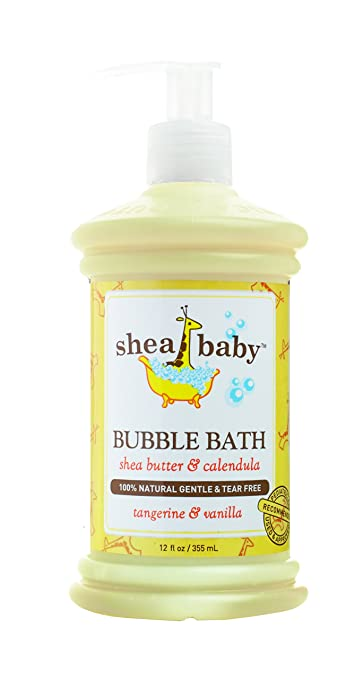 Out of Africa Shea Baby Bubble Bath, Tangerine Vanilla, 12 Ounce