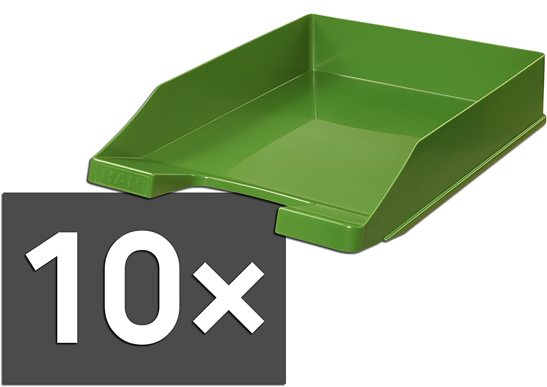HAN 1027 Briefablage KLASSIK, DIN A4 C4, stapelbar, stabil, modern (lemon   20er Pack) B07BYCHH6M | Abgabepreis