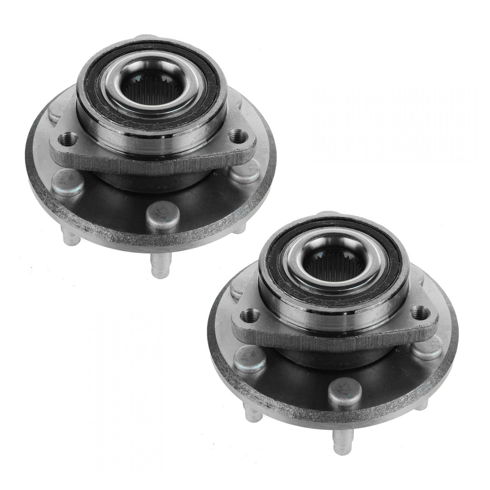 Front or Rear Wheel Hub & Bearing Left Right Pair for Chevy GMC Buick Saturn