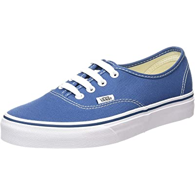 VANS VEE3NVY Unisex Authentic Canvas Sneakers, Navy, 10.5 B(M) US Women / 9 D(M) US Men | Fashion Sneakers