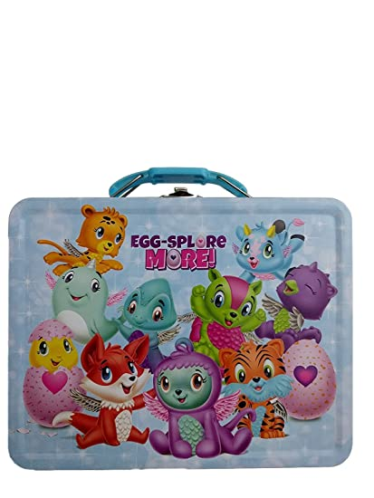 4591bbf13684 Hatchimals Tin Lunch Box Egg-Splore More