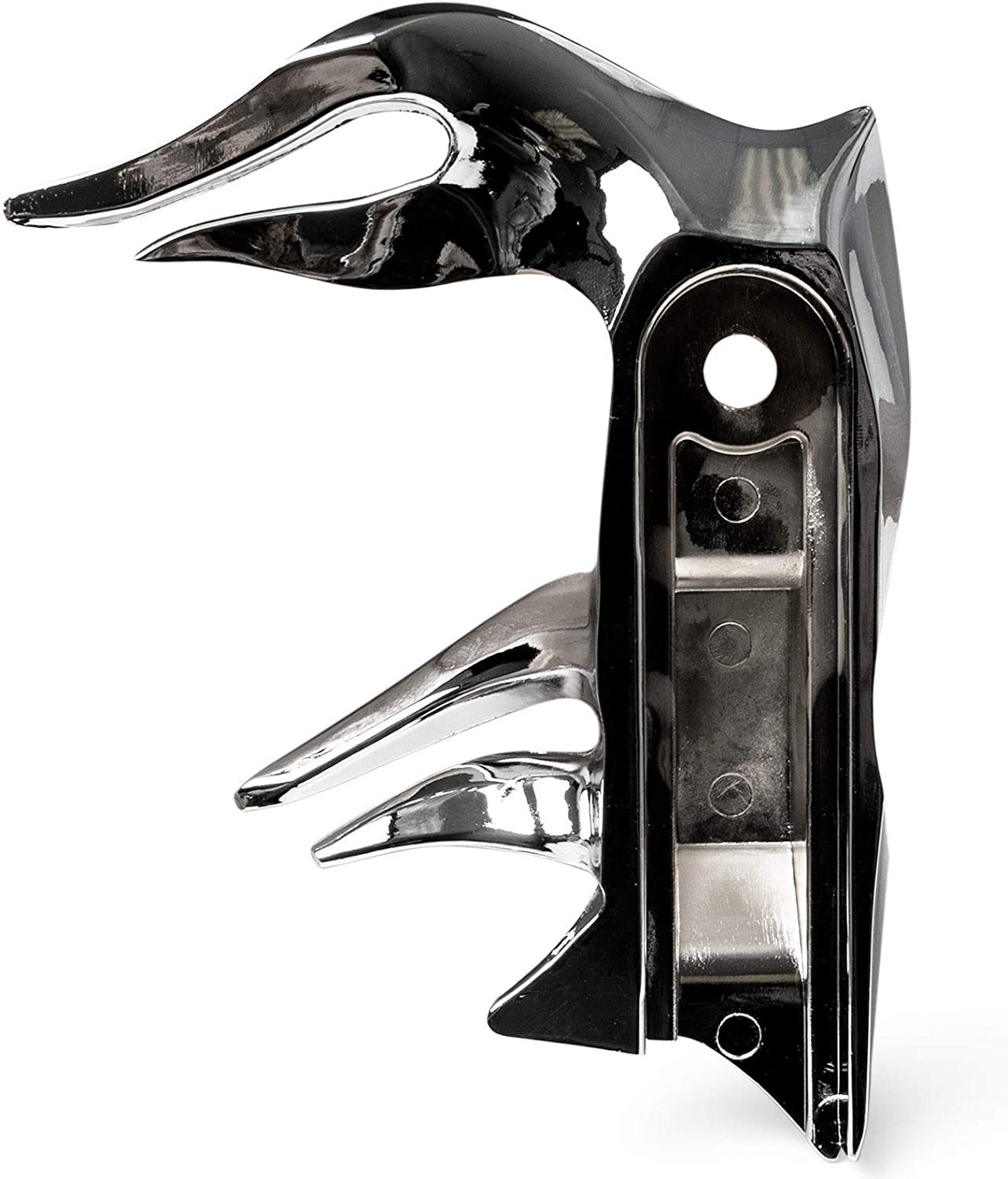 Krator NEW Chrome Flame Shift Linkage Arm Cover for 1982-2016 Harley Davidson Electra Glides
