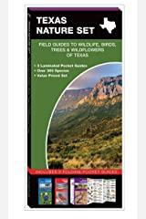 Texas Nature Set: Field Guides to Wildlife, Birds, Trees & Wildflowers of Texas Pamphlet