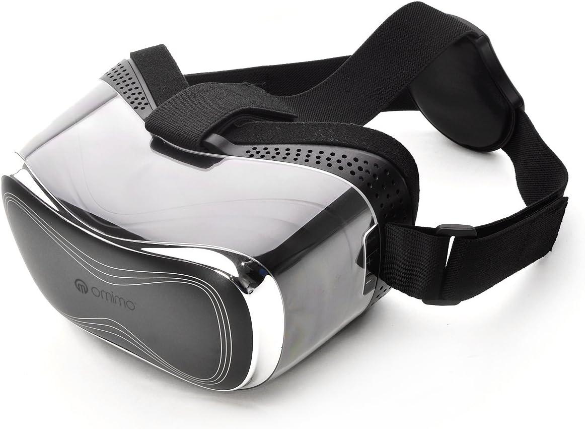 Gafas Omimo Realidad Virtual 3D a 360 ° 1080P elikliv VR immersiva Bluetooth Auriculares Android OS Octa-Core Juegos & Movie HDMI para PS4 PC/ Xbox/PS TV Gym: Amazon.es: Electrónica