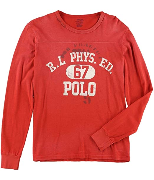 Polo Ralph Lauren PHYS de Manga Larga para Hombre Ed Graphic ...