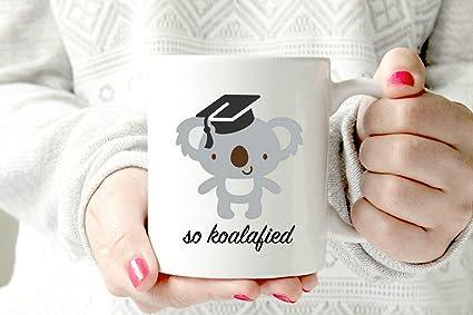 koala mug congratulations congrats pun so koalified new job graduation gift graduating college high school grad