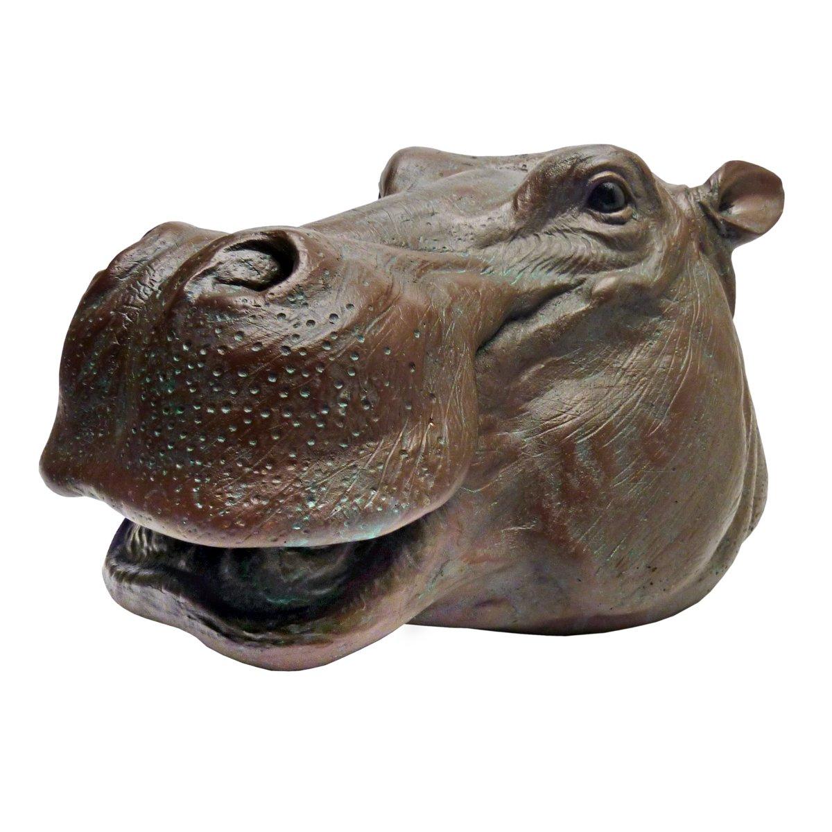 Design Toscano Huey, the Hippo Garden Sculpture Interpet Ltd JE112133