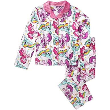 My Little Pony Little Girls Rainbow Dash & Pinkie Pie Coat Pajama (6/6X