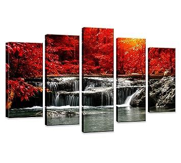 amazon hua dao art hj 0313 canvas prints 5 piece wall art home