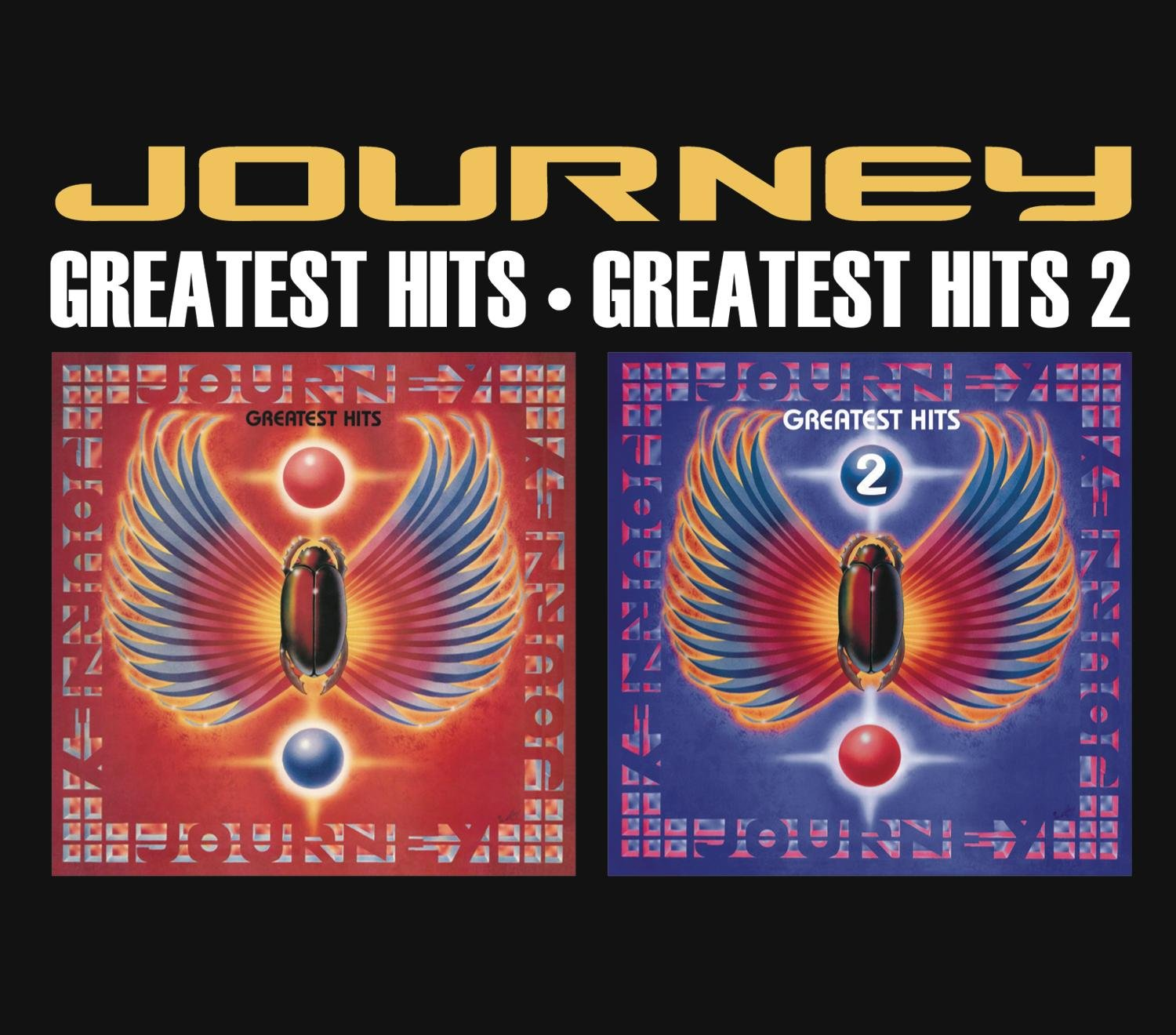 CD : Journey - Greatest Hits 1 and 2 (2 Disc)