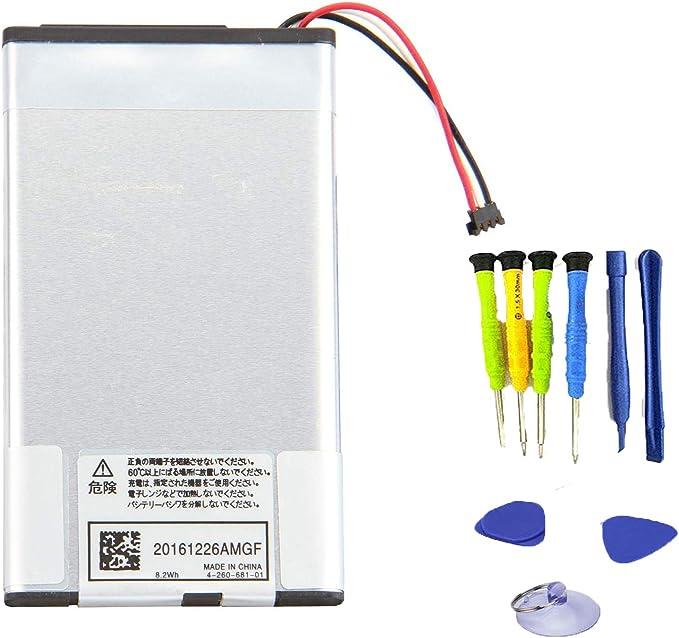Amazon.com: sunnear SP65 M 2210 mAh para Sony PlayStation PS ...