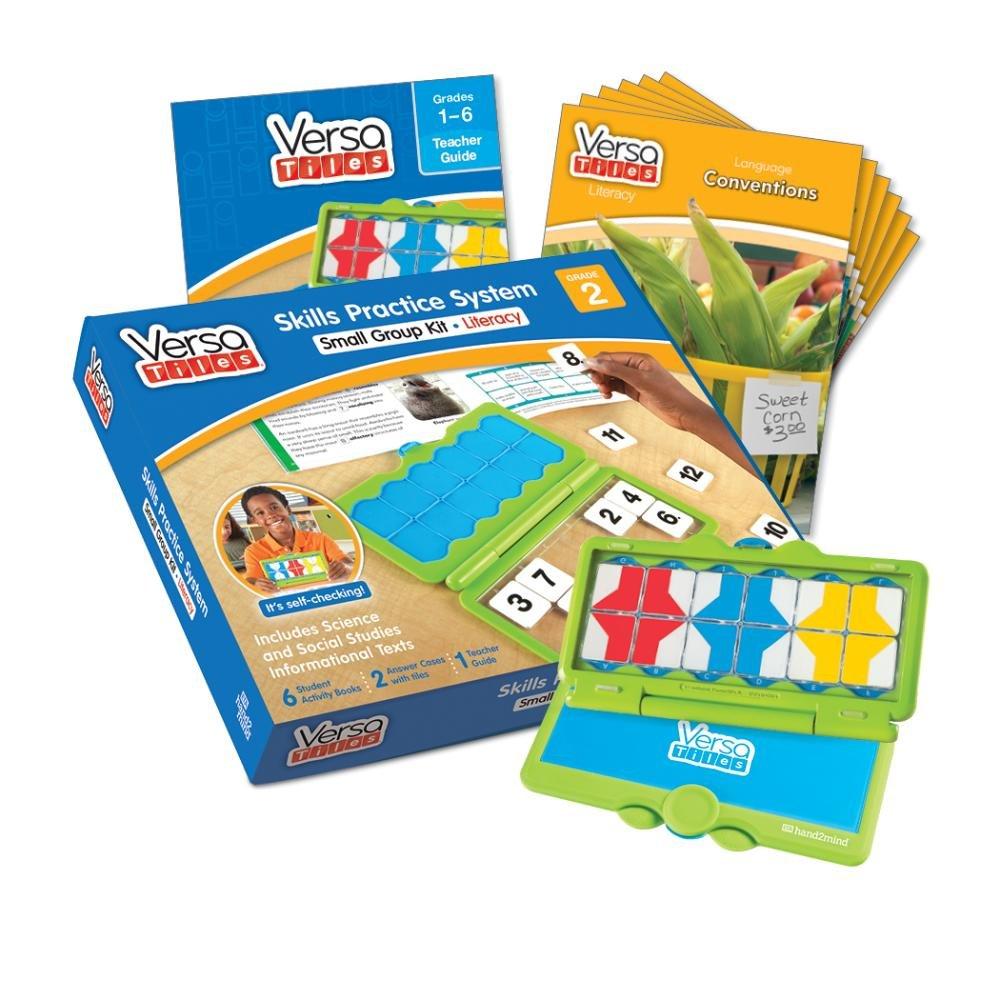 ETA hand2mind VersaTiles Literacy Small Group Kit (Grade 2)