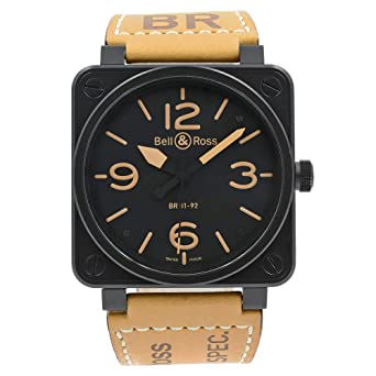 Bell And Ross Watches >> Amazon Com Bell Ross Br 01 Automatic Self Wind Male Watch