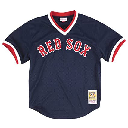 586580362 Amazon.com   Mitchell   Ness Ted Williams Boston Red Sox Men s Authentic  1990 BP Jersey   Clothing