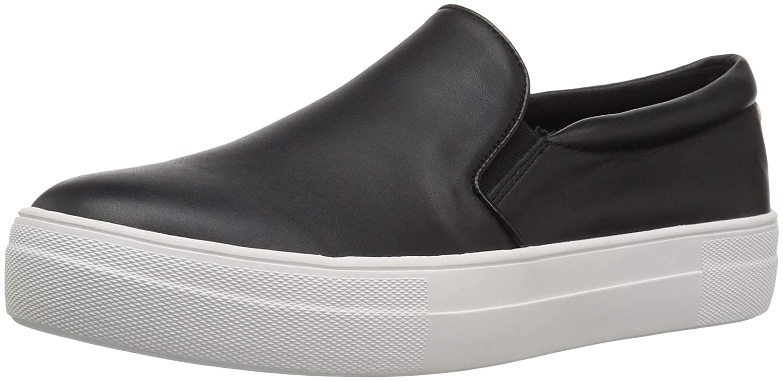 【在庫処分】 Steve Madden Womens GILLS GILLS Sneaker Fashion Sneaker B078ZJ83SZ 6.5 B(M) B(M) US|ブラックレザー ブラックレザー 6.5 B(M) US, ROL:caabfbf5 --- arianechie.dominiotemporario.com
