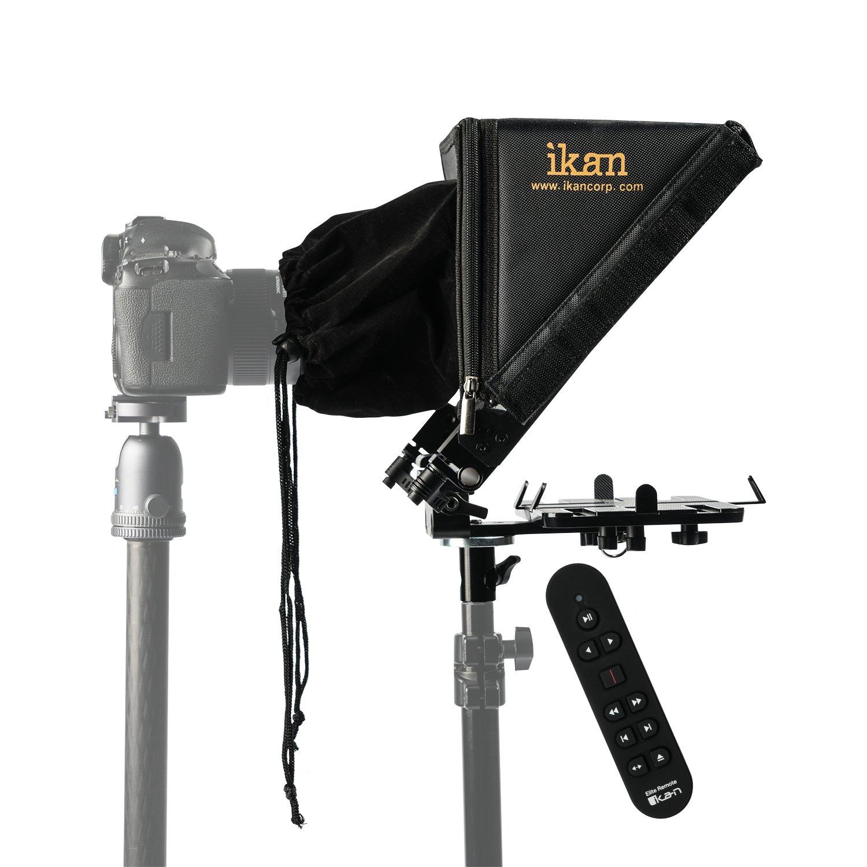 Ikan PT-Elite-LS-RC タブレットテレプロンプター ライトスタンド用 リモコン付き ブラック   B07B4BDZZJ