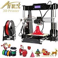Poncherish A8 Impresora 3D Apoyo la diversidad de material Tamaño de Impresión Grande 220 * 220 * 240mm