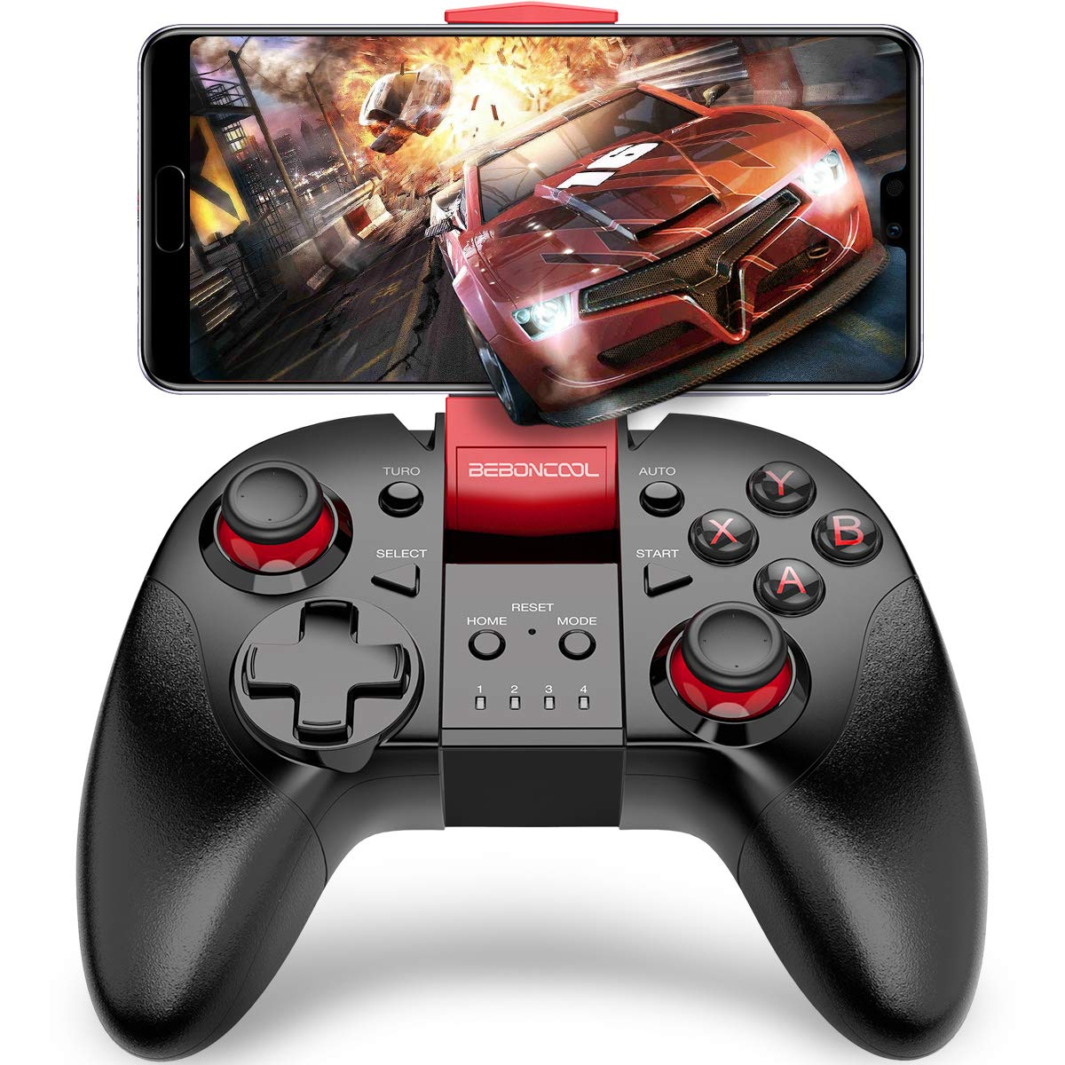 BEBONCOOL Gamepad Remote for Android Phone//Tablet//Samsung Gear VR//Emulator Gear VR Gamepad Controller Compatible with Bluetooth Android Wireless Game Controller