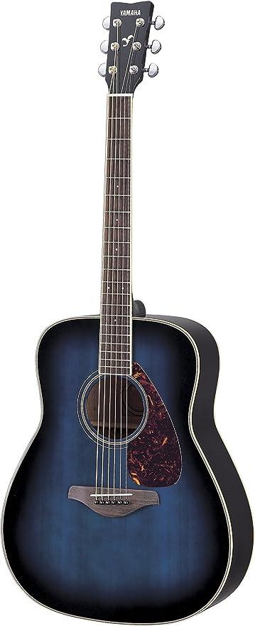 Yamaha fg720s parte superior sólida guitarra acústica – madera de ...