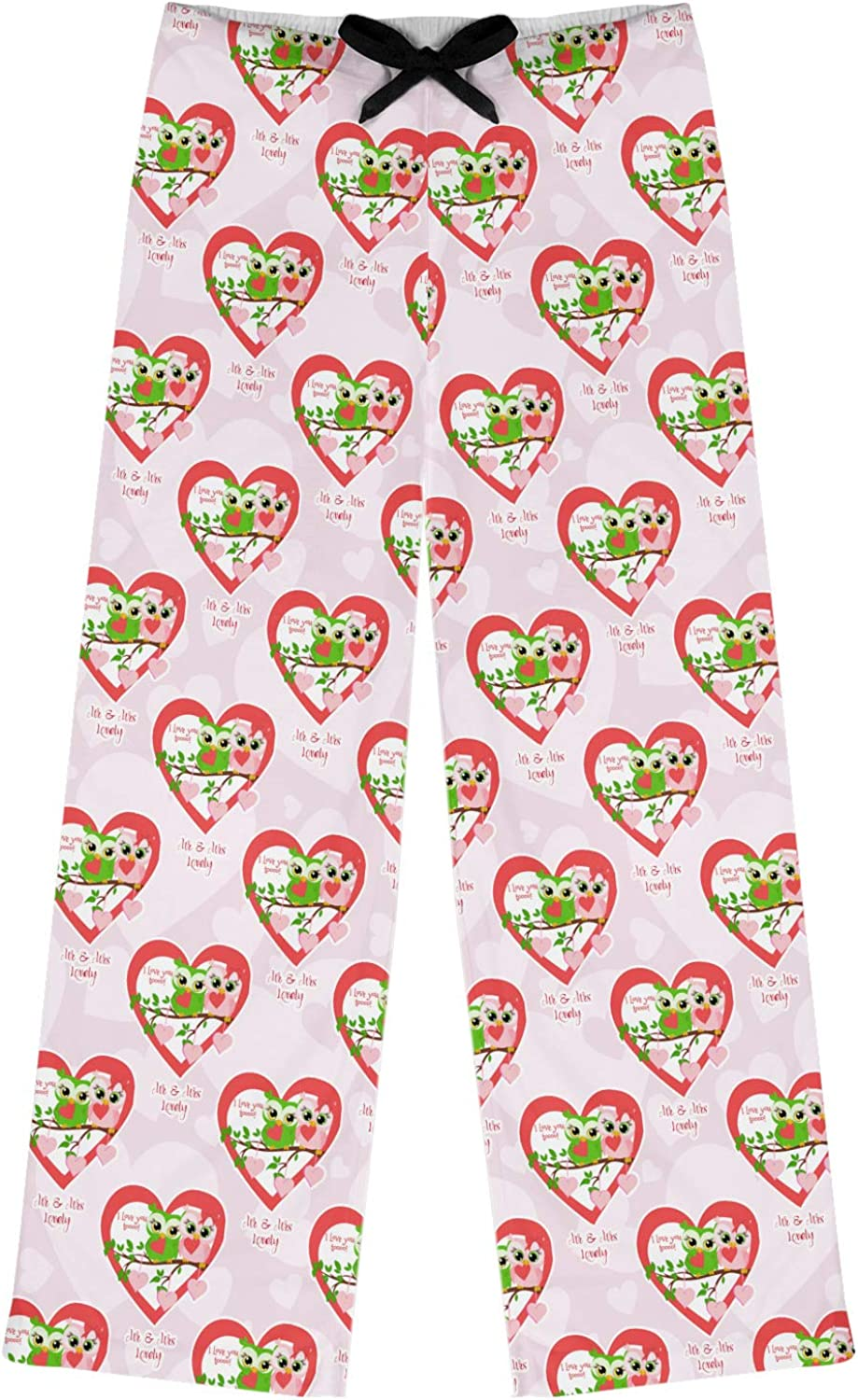 Personalized RNK Shops Sewing Time Womens Pajama Pants XS Pink