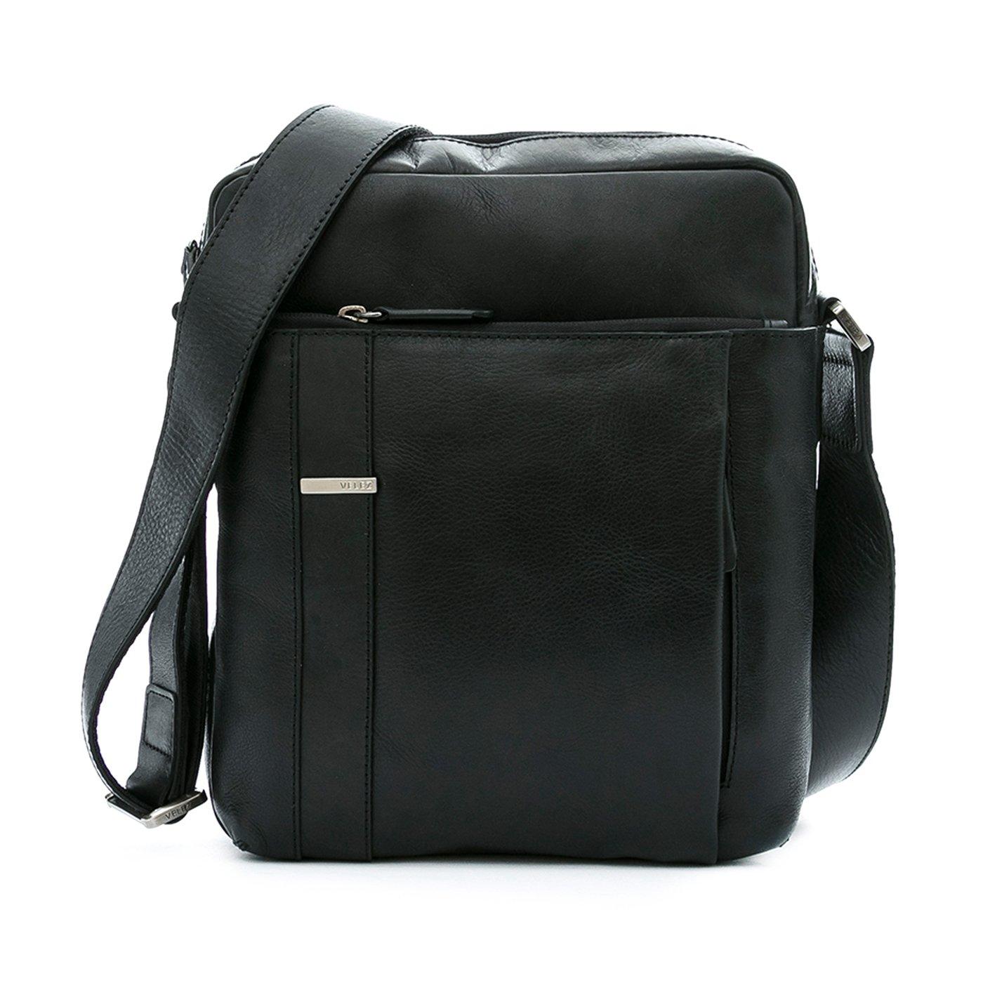 Amazon.com | VÉLEZ 20201 Men Genuine Leather Crossbody Bag | Bandolera De Cuero Black | Backpacks