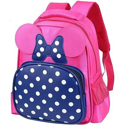 Zmsdt Korean Version of The Kindergarten Bag 1-3-6 Years Old Baby Small Bag  Cute Backpack Cartoon Bag Boys and Girls Shoulder Bag (color   PURPLE)  ... e281581bd198c