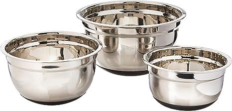 Amazon Com Küchenprofi Mixing Bowl Set 3 Piece Set Kitchen Dining