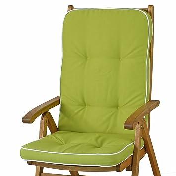sun garden 4 Cojines para sillas con Respaldo Alto tomiro ...