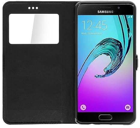 iPOMCASE - Carcasa con Tirador Funda Ventana Samsung Galaxy ...