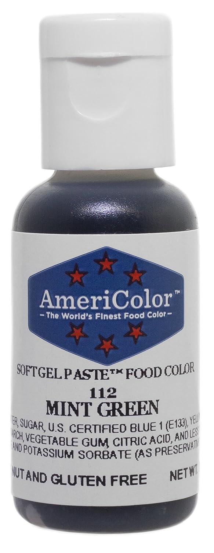 Amazon.com: Americolor Soft Gel Paste Food Color, .75-Ounce, Mint ...