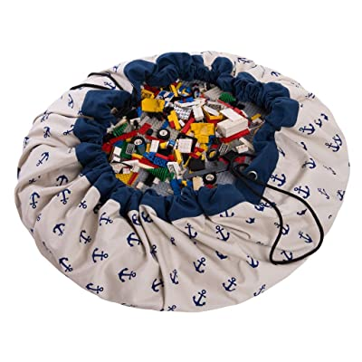 Play & Go Prints Storage Bag Anchors, Diameter- 140 cm: Toys & Games
