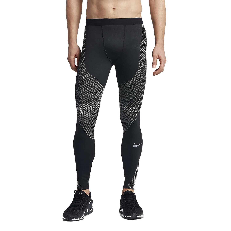 Nike Zonal強度メンズランニングタイツ B01M3XP5N7 3L ブラック ブラック 3L