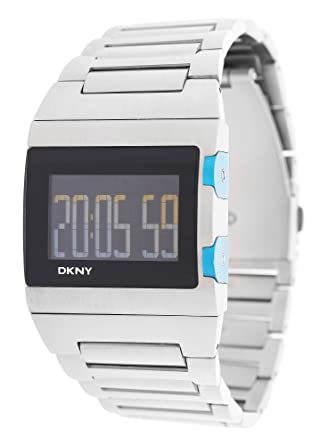 dkny donna karan men watch silver ny1305 amazon co uk watches dkny donna karan men watch silver ny1305