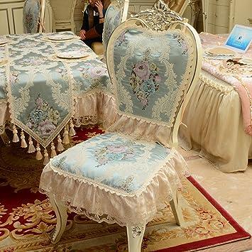 5e6b97058c2 Amazon.com  ZHAS European Style Dining Chair Cushion