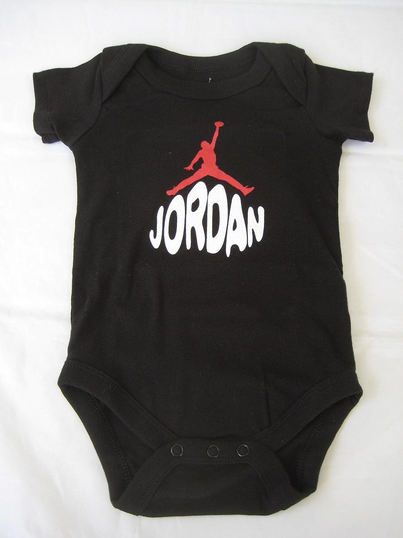 036ba45c3703a9 Amazon.com  Nike Jordan Infant New Born Baby Boy 0-6 Months Lap Shoulder  Bodysuits