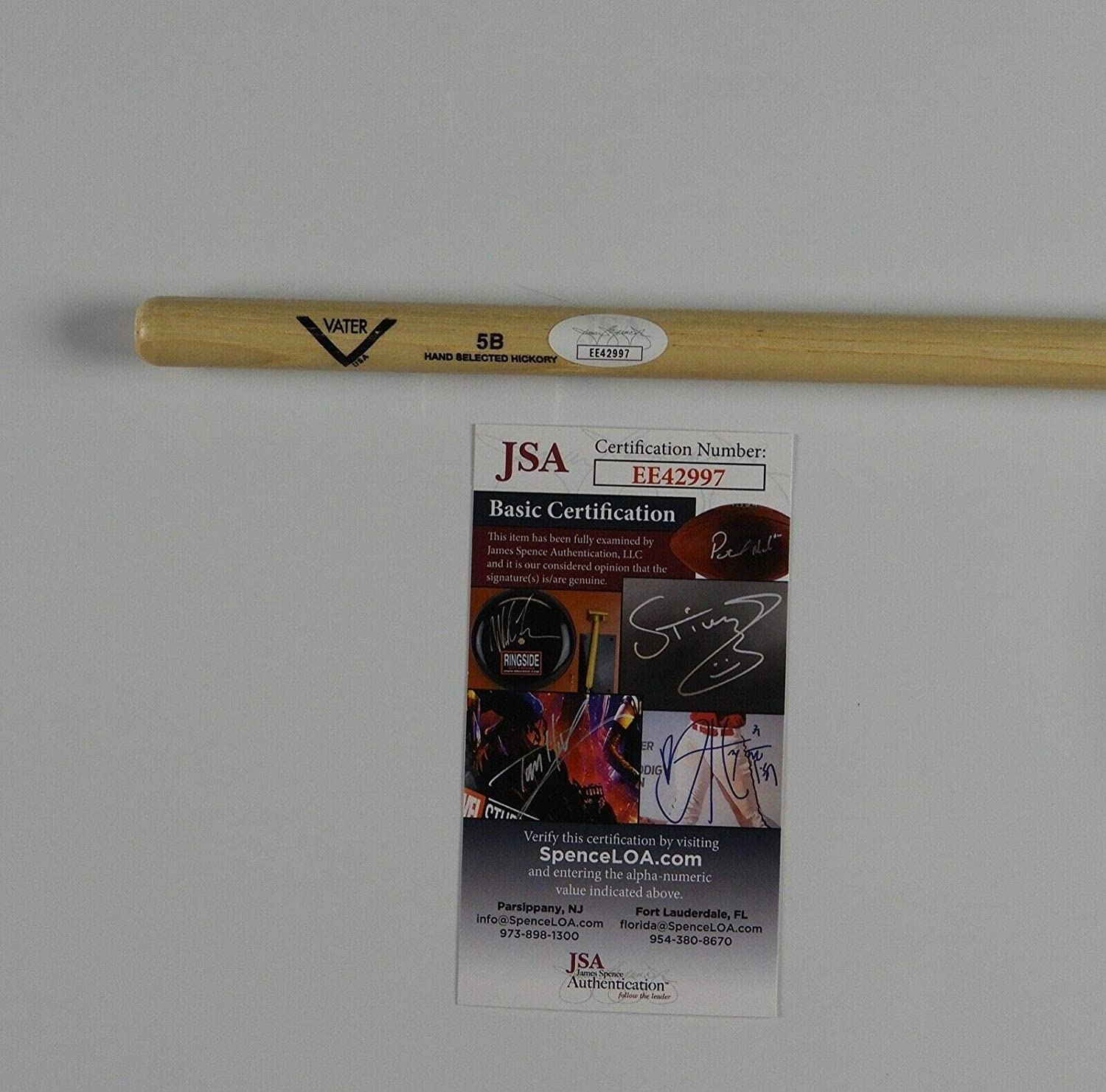 Chad Smith Autographed Signed Red Hot Chili Peppers JSA Autograph Drumstick Drum Stick