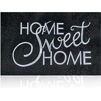 Front Door Mat Home Sweet Home Doormat for Outdoor Indoor,Durable Natural Rubber Backing Welcome Mat,Easy Clean Heavy…