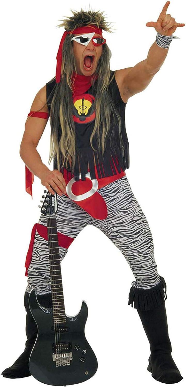 Widman - Disfraz Rock Star para hombre, talla M (37862): Amazon.es ...