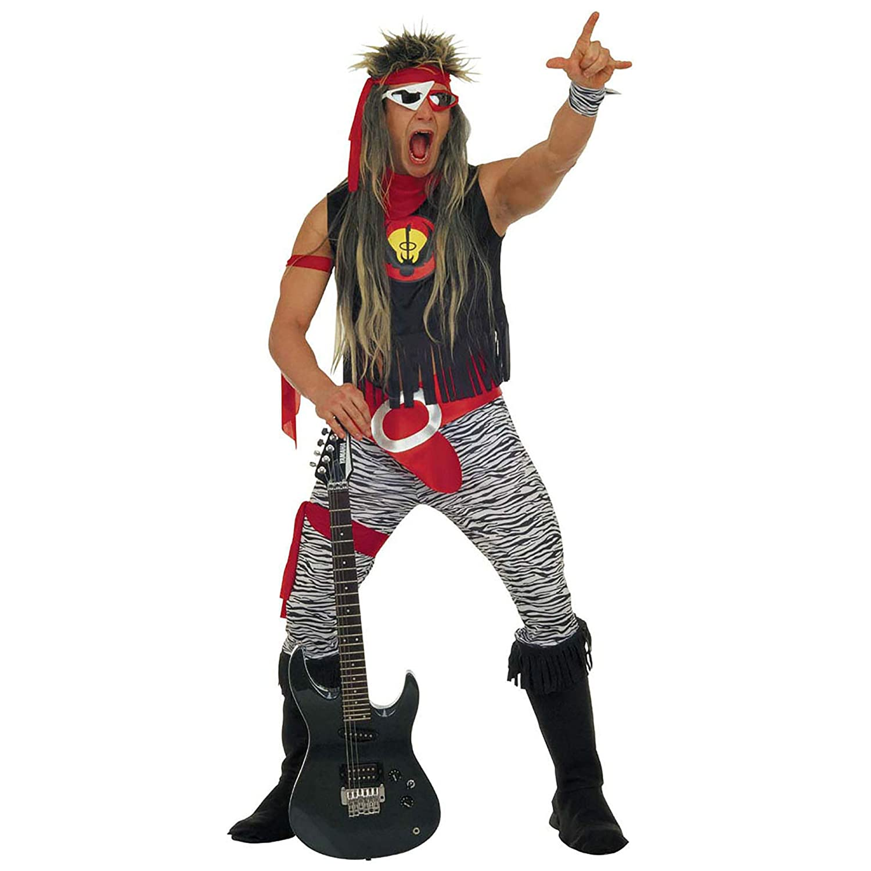 Widman - Disfraz Rock Star para hombre, talla M (37862): Amazon.es: Juguetes y juegos