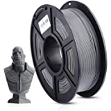 ANYCUBIC PLA 3D Printer Filament, 3D Printing PLA Filament 1.75mm Dimensional Accuracy +/- 0.02mm, 1KG Spool (2.2 lbs), Grey