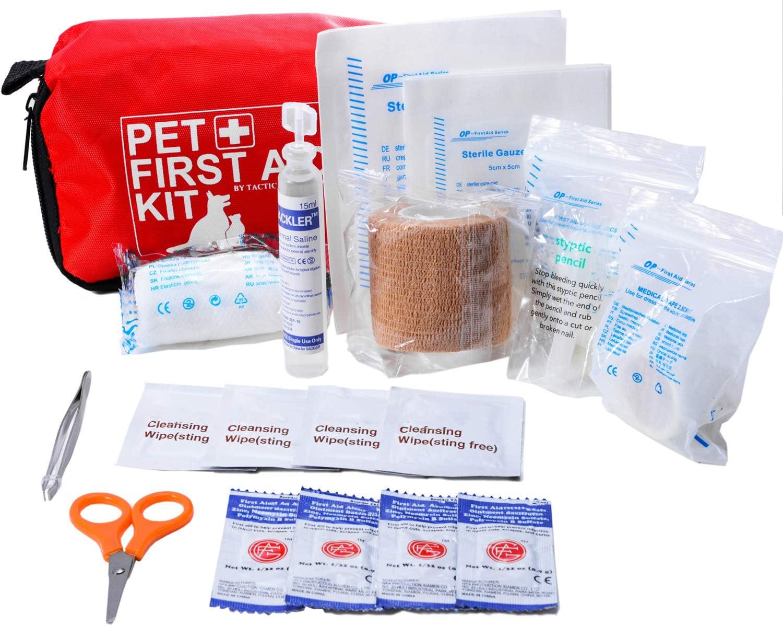 kit de primeros auxilios para perros
