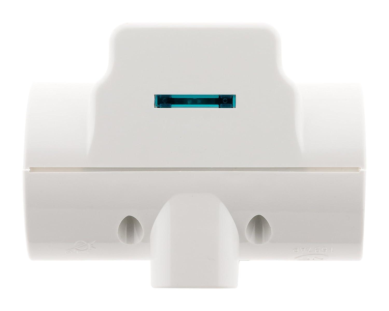 Security Pro 211118 Parafoudre Triplite, Blanc a41e68b96d30