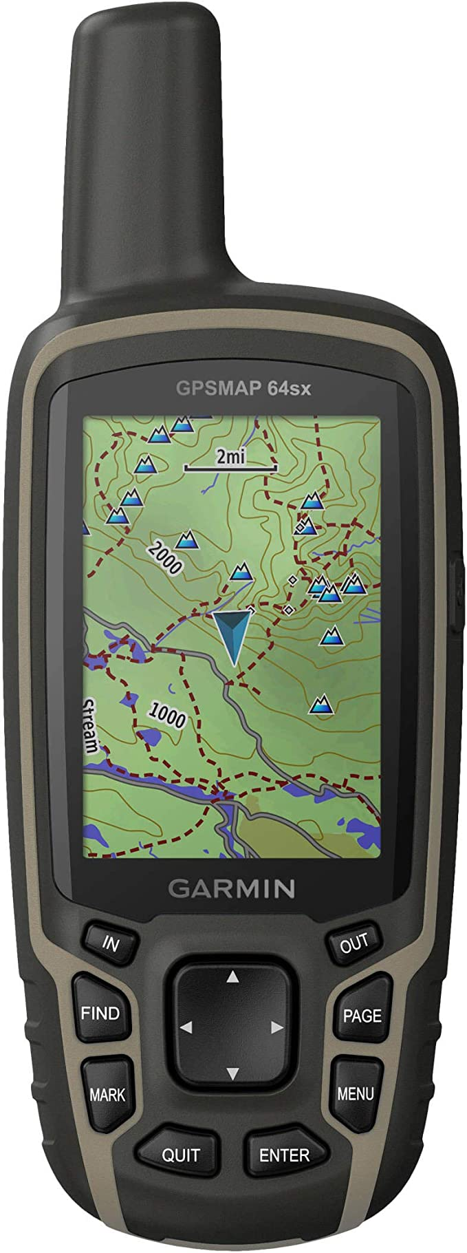 Garmin Gpsmap 64sx Outdoor Navi Gps Glonass Bluetooth Ant Topo Dtl V9 Pro Sport Freizeit