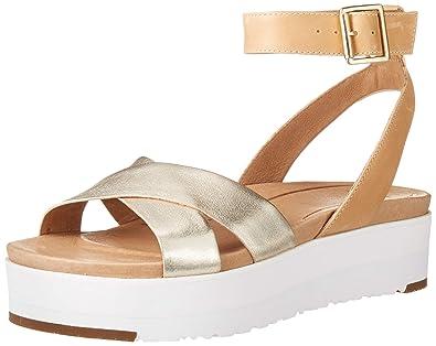 c397210c180 Amazon.com   UGG Women's Tipton Metallic Flat Sandal   Flats