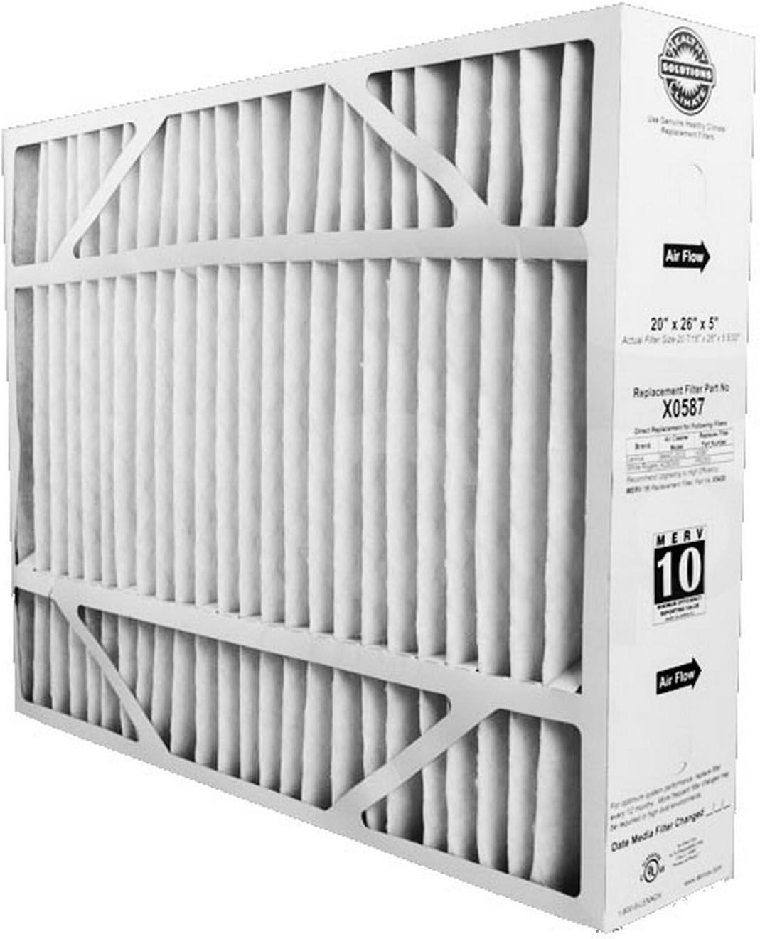 """Lennox X0585 BMAC 20/"""" x 20/"""" x 5/"""" MERV 11 Furnace Filter"""