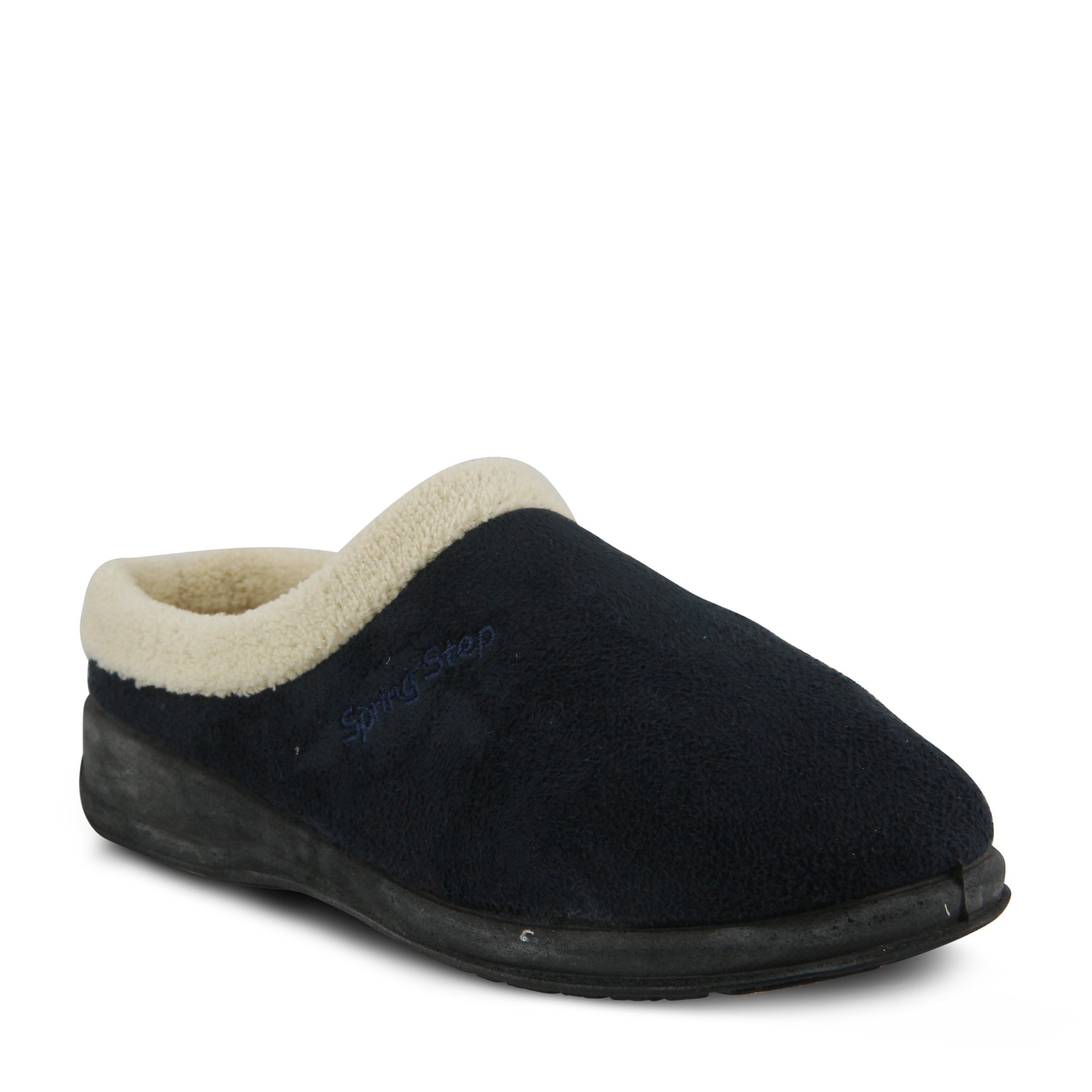 Spring Step Women's Ivana Slip On Slipper, Navy, 41 EU/9.5-10 M US